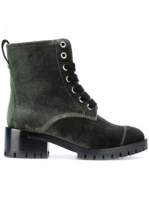 Ботинки Hayett на молнии 3.1 Phillip Lim. Цвет: зелёный