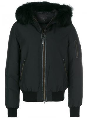 Куртка Rick Mackage. Цвет: чёрный