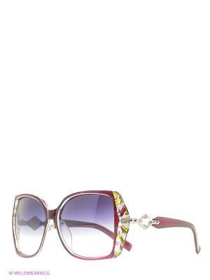 Солнцезащитные очки Vittorio Richi. Цвет: красный