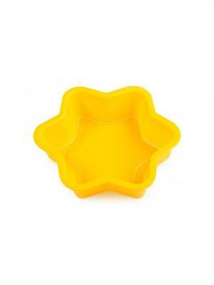 Набор форм для выпечки OURSSON. Цвет: синий, желтый, розовый