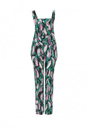 Комбинезон Trussardi Jeans. Цвет: разноцветный