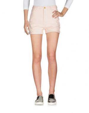 Джинсовые шорты DES PETITS HAUTS. Цвет: светло-розовый