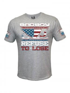 Футболка Bad Boy Chris Weidman UFC 168 Walkout Tee. Цвет: черный