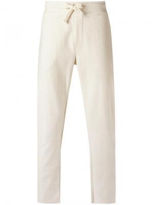 Track pants Osklen. Цвет: белый
