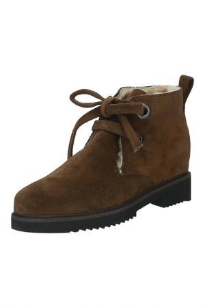 Ботинки Julie Dee. Цвет: коричневый