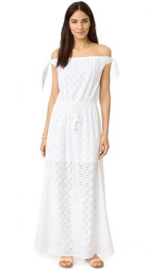 Макси-платье Amalfi PAMPELONE. Цвет: белый