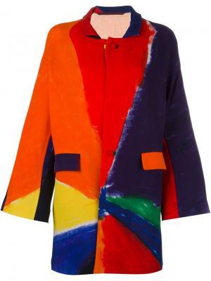 Однобортное пальто Daniela Gregis. Цвет: none