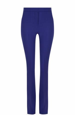 Расклешенные брюки со стрелками Victoria by Beckham. Цвет: синий