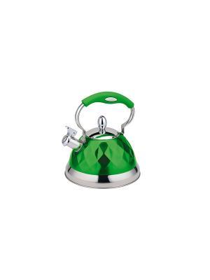 Чайник Bekker. Цвет: зеленый