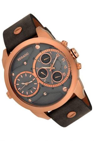 Часы Sebago. Цвет: розовый