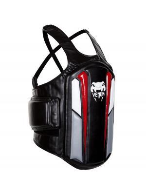 Защитный жилет Venum Elite Body Shield. Цвет: черный, белый, серый