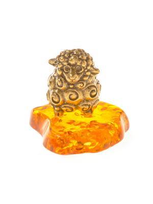 Фигура Овечка Aztek. Цвет: желтый, коричневый, светло-оранжевый