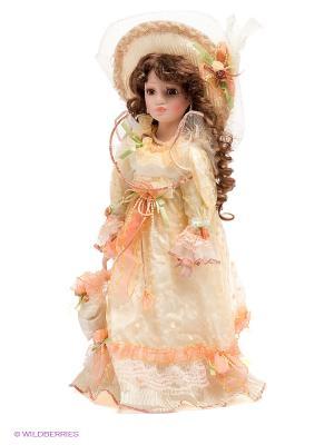 Кукла фарфоровая Алина,18 Lisa Jane. Цвет: бледно-розовый, салатовый, молочный