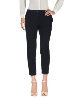Повседневные брюки LIST. Цвет: темно-синий