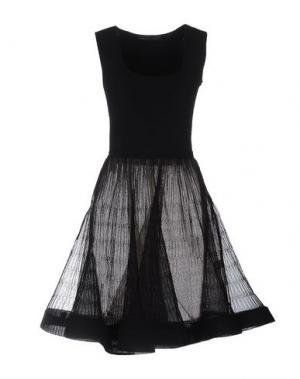 Короткое платье ANTONINO VALENTI. Цвет: черный