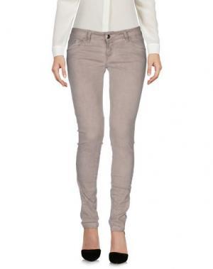 Повседневные брюки GUARAPO. Цвет: голубиный серый