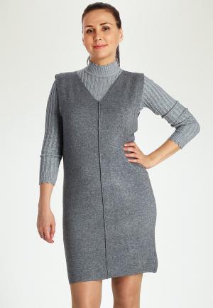 Платье Marissimo. Цвет: серый