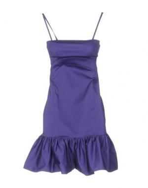 Короткое платье PINKO BLACK. Цвет: розовато-лиловый