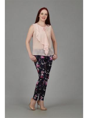 Блузка Настаси. Цвет: розовый