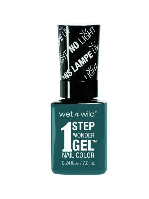Гель-лак для ногтей 1 Step Wonder Gel E7061 un-teal next time Wet n Wild. Цвет: зеленый