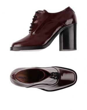 Обувь на шнурках STEPHANE KÉLIAN. Цвет: красно-коричневый