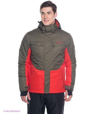 Куртка BRUNOTTI. Цвет: красный