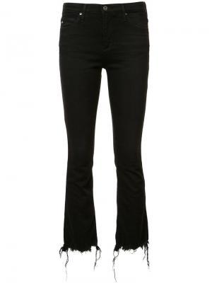Укороченные джинсы Ag Jeans. Цвет: чёрный