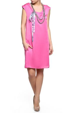 Платье Alviero Martini. Цвет: розовый