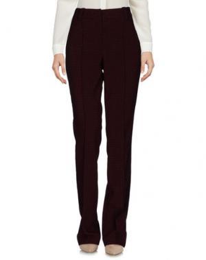 Повседневные брюки A.L.C.. Цвет: баклажанный