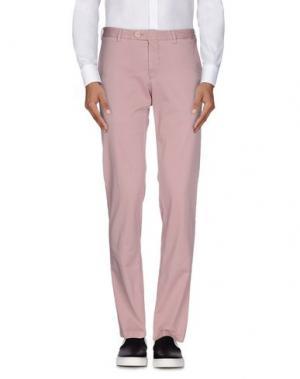 Повседневные брюки GERMANO. Цвет: пастельно-розовый