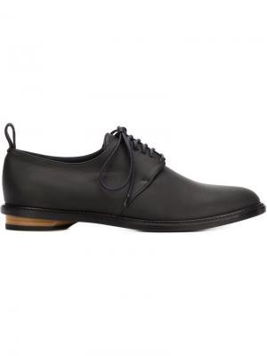 Туфли на шнуровке Valas. Цвет: чёрный