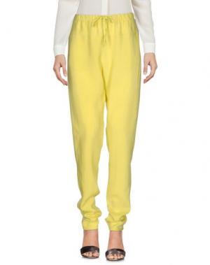 Повседневные брюки HUMANOID. Цвет: кислотно-зеленый