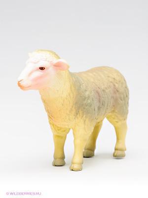 Овца MOJO. Цвет: светло-серый, бежевый