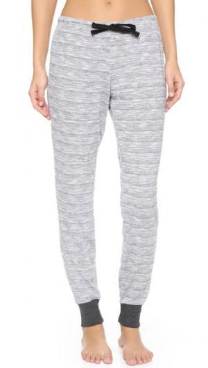 Пижамные брюки Dakota Love+Grace. Цвет: серый меланж