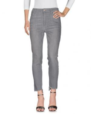 Джинсовые брюки JOE'S JEANS. Цвет: свинцово-серый