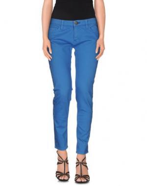 Джинсовые брюки SHINE. Цвет: лазурный