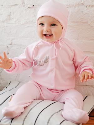 Кофточка Lucky Child. Цвет: розовый