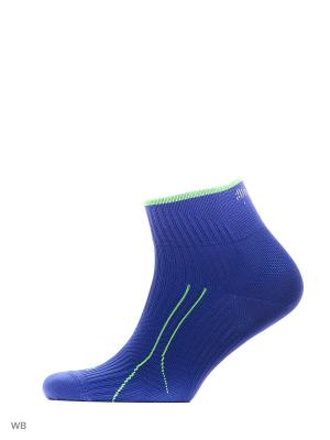 Носки PUMA CELL RUN QUARTER 1P. Цвет: голубой