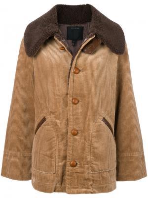 Oversized corduroy jacket Marc Jacobs. Цвет: коричневый