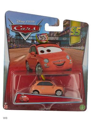 Машина Тачки 2 Mattel. Цвет: коралловый, оранжевый, красный