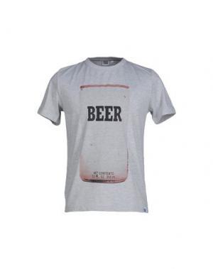 Футболка DRESS CODE. Цвет: светло-серый