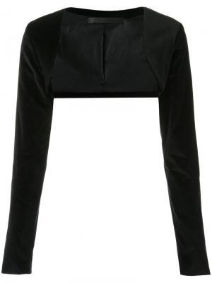 Укороченная куртка Uma   Raquel Davidowicz. Цвет: чёрный