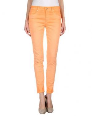 Джинсовые брюки BLUE LUXURY. Цвет: оранжевый