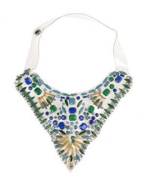 Ожерелье JO NO FUI. Цвет: изумрудно-зеленый