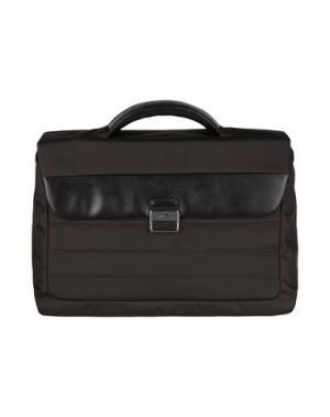 Деловые сумки NAVA. Цвет: темно-коричневый
