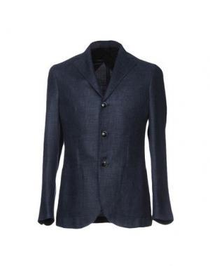 Пиджак BARBA Napoli. Цвет: грифельно-синий