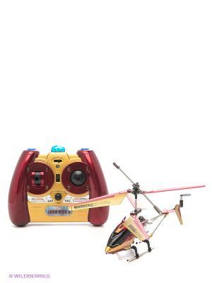 Игрушка Вертолет Железный человек Majorette. Цвет: желтый