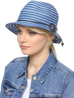Шляпа Ваша Шляпка. Цвет: голубой, синий