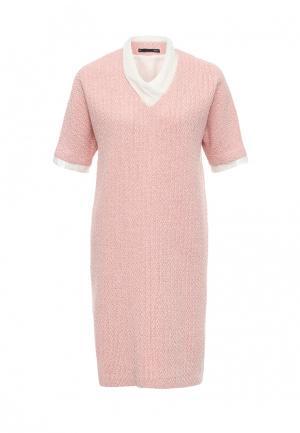 Платье Uona. Цвет: розовый