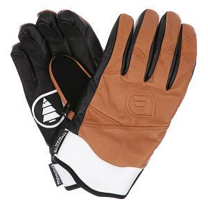 Перчатки сноубордические  Source Brown Picture Organic. Цвет: коричневый,черный